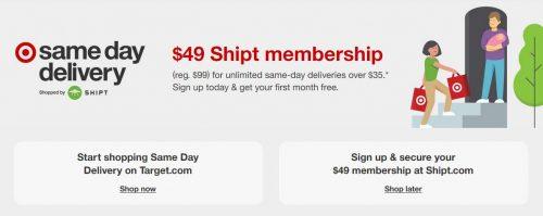 Shipt Membership